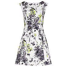 Buy Reiss Ottoline Vintage Floral Print Dress, Multi Online at johnlewis.com