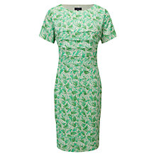 Buy Viyella Brushstroke Pleated Dress, Amazon Online at johnlewis.com