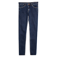 Buy Mango Skinny Olivia Jeans, Navy Online at johnlewis.com