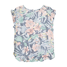 Buy Mango Tropical Print Blouse, Multi Online at johnlewis.com