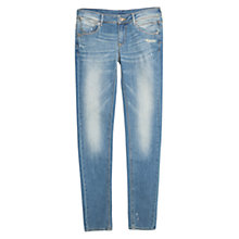 Buy Mango Push-up Uptown Jeans, Medium Blue Online at johnlewis.com