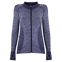 Buy Manuka Active Seamless Jacket, Navy Online at johnlewis.com