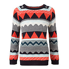 Buy Donna Wilson for John Lewis Boys' Intarsia Jumper, Multi Online at johnlewis.com