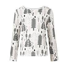 Buy Donna Wilson for John Lewis Boys' Layered Long Sleeve T-Shirt, Cream Online at johnlewis.com