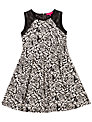 Derhy Kids Girls' Marinella Floral Dress, Black/White