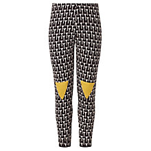 Buy Donna Wilson for John Lewis Girls' Tree Leggings, Black/Multi Online at johnlewis.com
