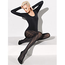 Buy Wolford Ria Tights, Black Online at johnlewis.com