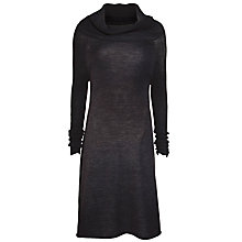 Buy Crea Concept Knitted Dress, Grey Online at johnlewis.com