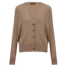 Buy Crea Concept V-neck Cardigan, Camel Online at johnlewis.com