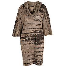 Buy Crea Concept Knitted Dress, Cream Online at johnlewis.com