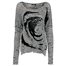 Buy Crea Concept Pullover, White Online at johnlewis.com