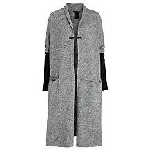 Buy Crea Concept Knit Sleeve Jacket, Grey Online at johnlewis.com