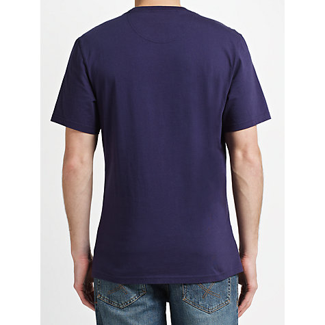 Buy Barbour International Convoy T-Shirt, Midnight Blue Online at johnlewis.com