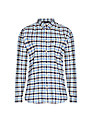 Barbour Moss Check Cotton Shirt, Sea Blue