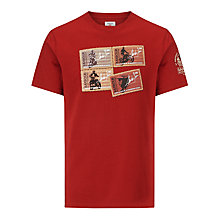 Buy Barbour International Steve McQueen™ Collection Stamp Short Sleeve T-Shirt Online at johnlewis.com