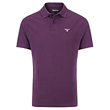 Buy Barbour Sports Polo Shirt, Imperial Purple Online at johnlewis.com