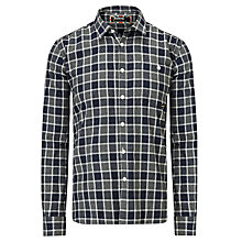 Buy Barbour International Steve McQueen™ Collection Manx Cotton Shirt, Grey Online at johnlewis.com