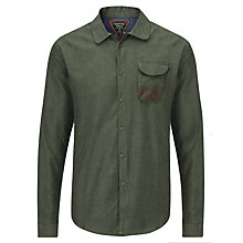 Buy Barbour Renison Cotton Shirt, Olive Online at johnlewis.com