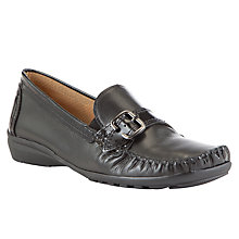Buy Gabor Poppins Leather Casual Shoes Online at johnlewis.com