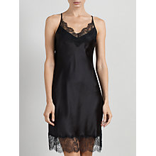 Buy Somerset by Alice Temperley Gatsby Short Chemise, Black Online at johnlewis.com