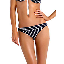 Buy Seafolly Coastline Tie Side Bikini Bottoms, Navy Online at johnlewis.com