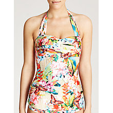 Buy Seafolly Butterfly Coast Halter Singlet, Bamboo Online at johnlewis.com