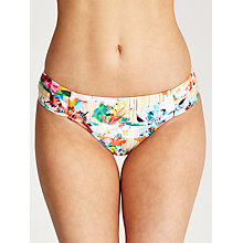 Buy Seafolly Butterfly Coast Bikini Briefs, Bamboo Online at johnlewis.com