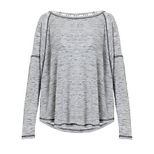 Buy Kin by John Lewis Swing Loungewear Top, Grey Marl Online at johnlewis.com