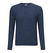Buy JOHN LEWIS & Co. Moss Stitch Merino Crew Neck Jumper Online at johnlewis.com