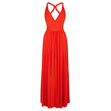 Buy Coast Ari Maxi Dress, Orange Online at johnlewis.com