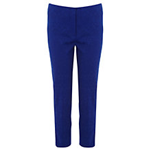 Buy Coast Herona Cropped Trousers, Blue Online at johnlewis.com