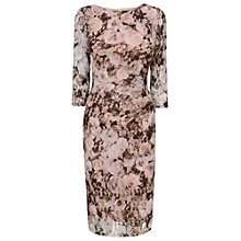 Buy Phase Eight Lucy Lace Dress, Lotus Pink Online at johnlewis.com