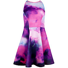 Buy Ted Baker NIM Summer At Dusk Printed Dress, Purple Online at johnlewis.com
