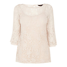 Buy Coast Isa Lace Top, Neutral Online at johnlewis.com