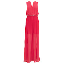 Buy Coast Vivian Maxi Dress, Coral Online at johnlewis.com