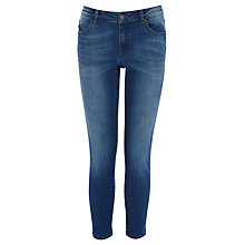 Buy Warehouse Crop Jeans, Mid Wash Denim Online at johnlewis.com