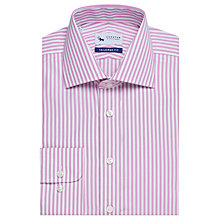 Buy Chester by Chester Barrie Butcher's Stripe Long Sleeve Shirt Online at johnlewis.com