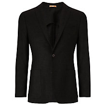 Buy Richard James Mayfair Deconstructed Wool Jersey Knitted Jacket, Green Online at johnlewis.com