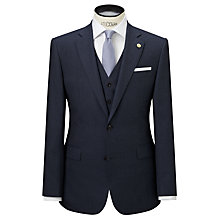 Buy Chester by Chester Barrie Flannel Tailored Suit Jacket, Airforce Blue Online at johnlewis.com