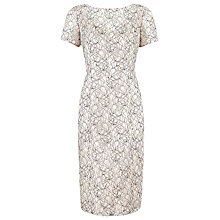 Buy Planet Lace Shift Dress, Multi Black Online at johnlewis.com