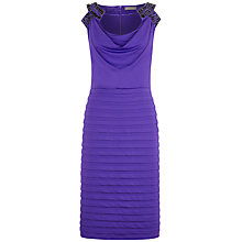 Buy Planet Jersey Layers Dress, Iris Online at johnlewis.com