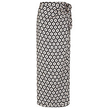 Buy Planet Tile Print Maxi Wrap Skirt, Multi Dark Online at johnlewis.com
