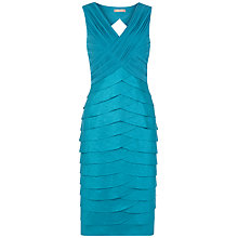 Buy Planet Shimmer Shutter Dress, Jade Online at johnlewis.com