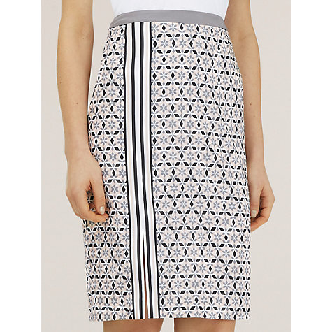 Buy Planet Multi Tile Print Skirt, Multi Light Online at johnlewis.com
