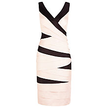 Buy Planet Contrast Shutters Dress, Neutral Online at johnlewis.com