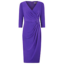 Buy Planet Lace Trim Jersey Dress, Iris Online at johnlewis.com