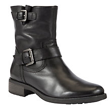 Buy Gabor Complete Leather Ankle Boots, Black Online at johnlewis.com