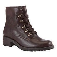 Buy Gabor Cranleigh Leather Lace Up Ankle Boots Online at johnlewis.com