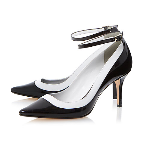Buy Dune Antonia Ankle Strap Court Shoes Online at johnlewis.com