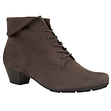 Buy Gabor Vastra Leather Ankle Boots Online at johnlewis.com